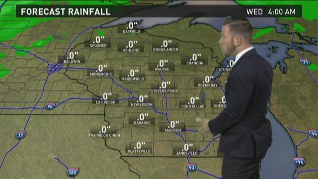 Wisconsin weather forecast for Monday, April 27