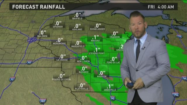 Wisconsin weather forecast for Thursday, May 21