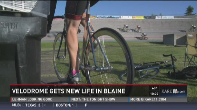 Velodrome gets new life in Blaine