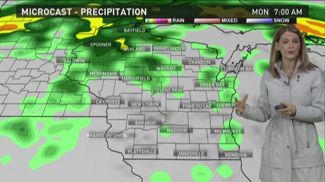 Wisconsin weather forecast for Sunday, May 24