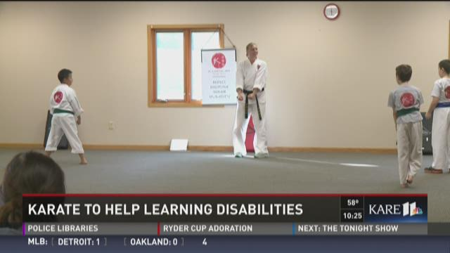 Karate to help learning disabilities
