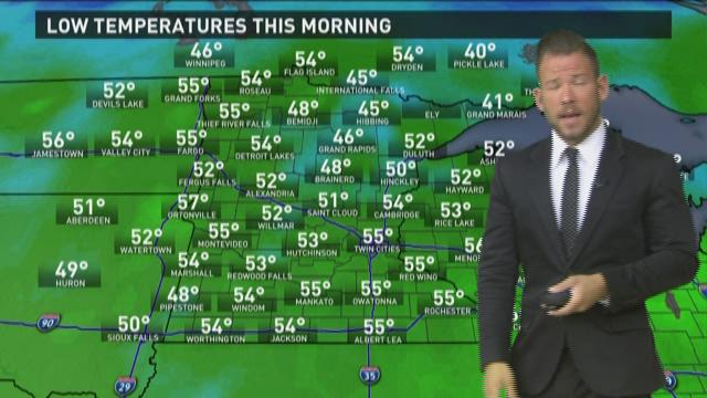 Late morning weather forecast 5-27-2015