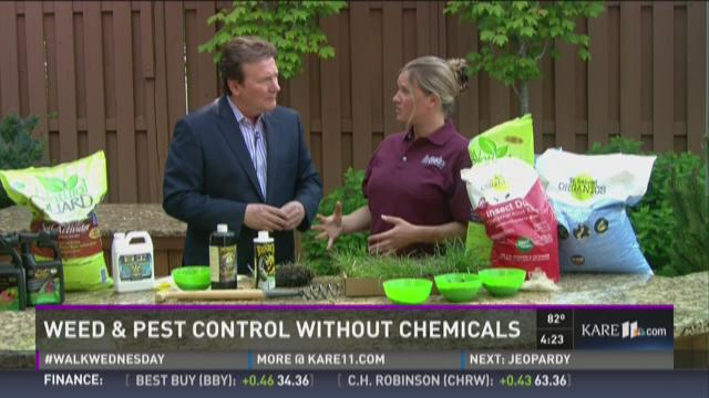 Weed and pest control without chemicals