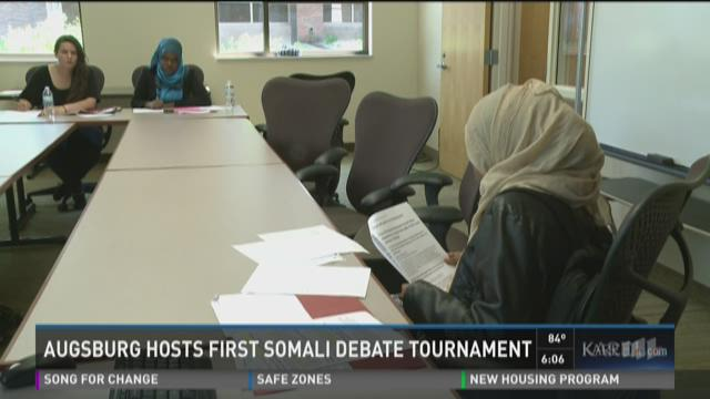 Augsburg hosts first Somali debate tournament
