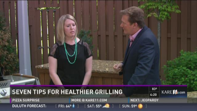 Seven tips for healthier grilling
