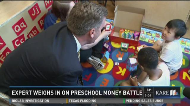 Experts weigh in on preschool money battle