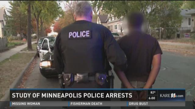 Study of Minneapolis police arrests