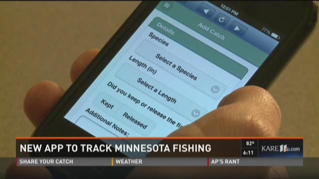 New app to track Minnesota fishing