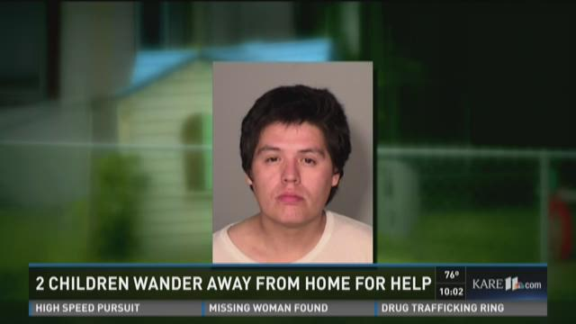 Two children wander away from home for help