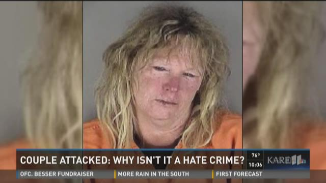 Couple attacked: Why isn't it a hate crime?