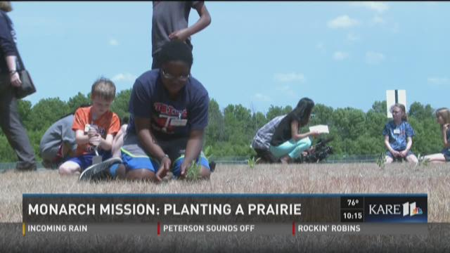 Monarch Mission: Planting a prairie