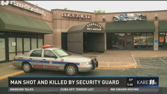 Man shot and killed by security guard in Maplewood