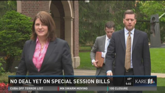 No deal yet on special session bills