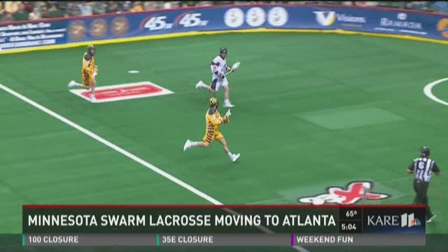 Minnesota Swarm lacrosse team is headed for Atlanta