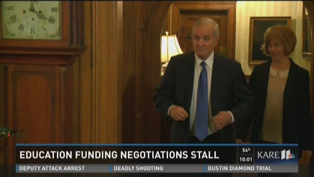 Education funding negotiations stall