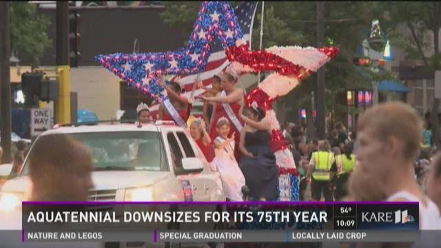 Aquatennial downsizes for its 75th year