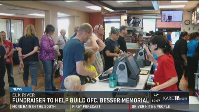 Fundraiser to help build Officer Besser memorial