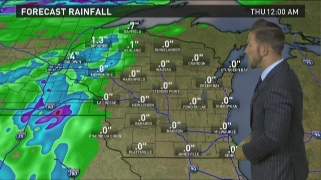 Wisconsin weather forecast for Tuesday, June 2