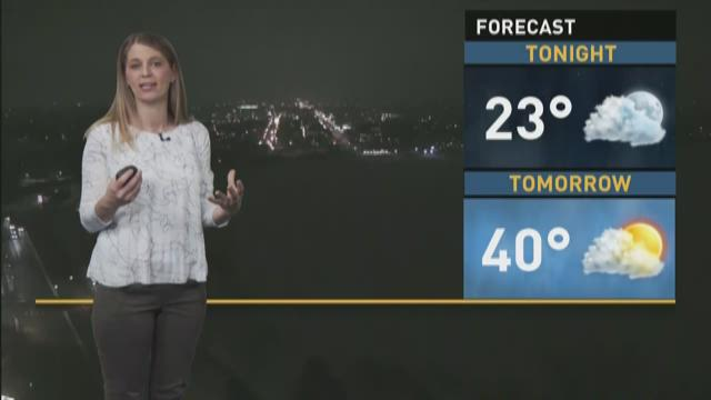 Light Snow Possible For Monday Morning Commute