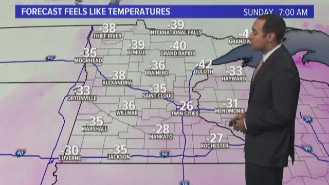 Bundle up; brutal wind chills expected