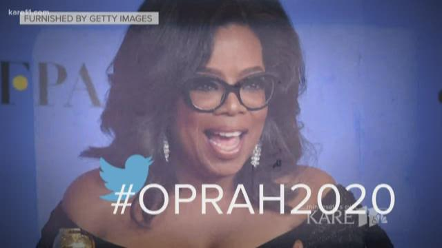 Oprah for president? Winfrey fans urge White House run after #MeToo speech