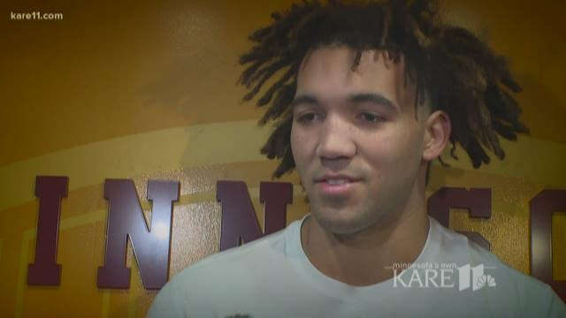 Minnesota's Reggie Lynch 'categorically denies' sexual misconduct allegations