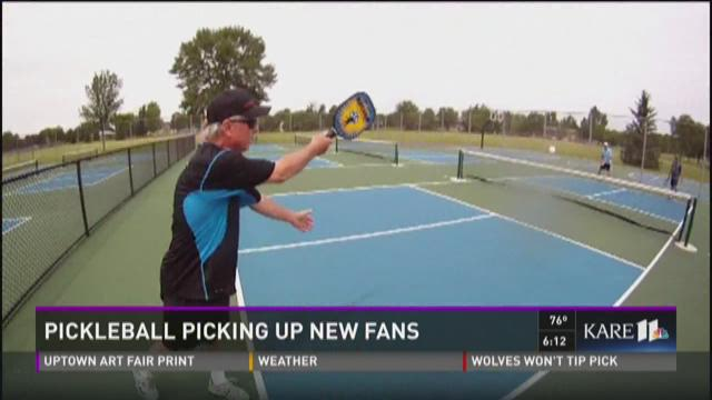 Pickleball picking up new fans