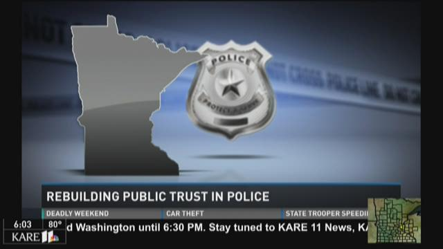 Rebuilding public trust in police