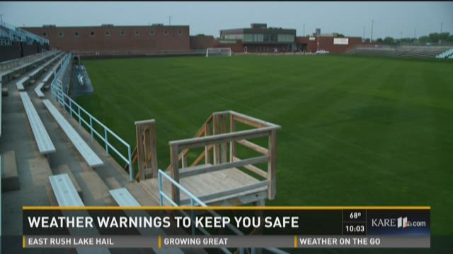 National Sports Center ready for severe weather