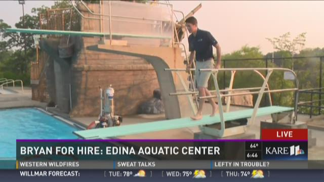 Bryan for Hire: Edina Aquatic Center