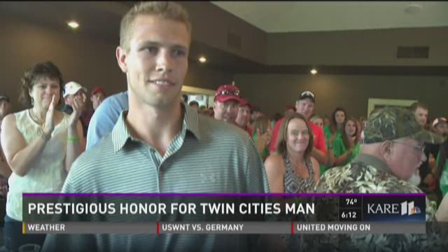 Prestigious honor for Twin Cities man