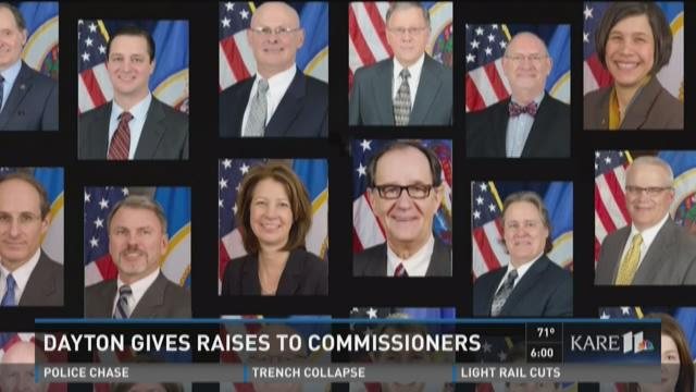 Gov. Dayton gives big pay raises to commissioners
