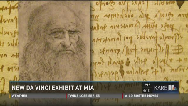 New da  Vinci exhibit at MIA