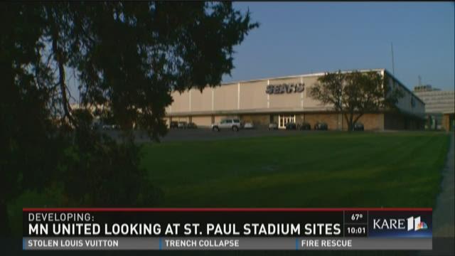 MN United looking at St. Paul stadium sites