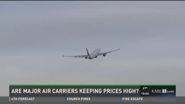 Local reaction to DOJ investigation of air carriers