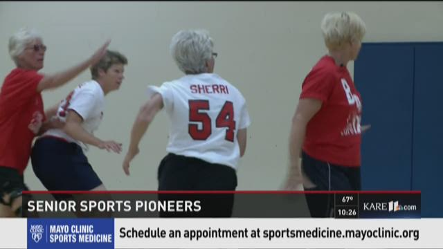Women's sports pioneers prep for Senior Games