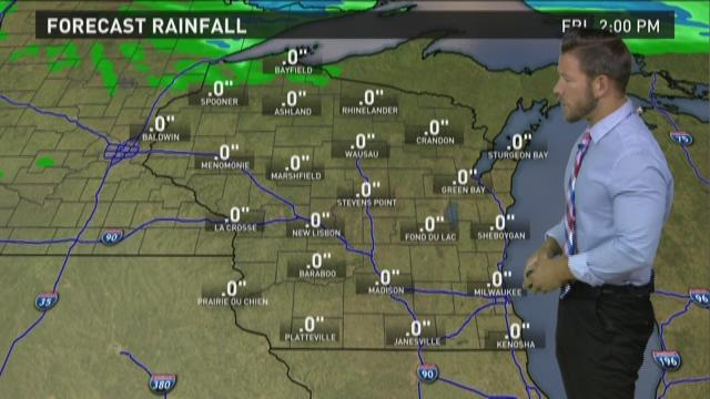 Wisconsin weather forecast for Thursday, July 2