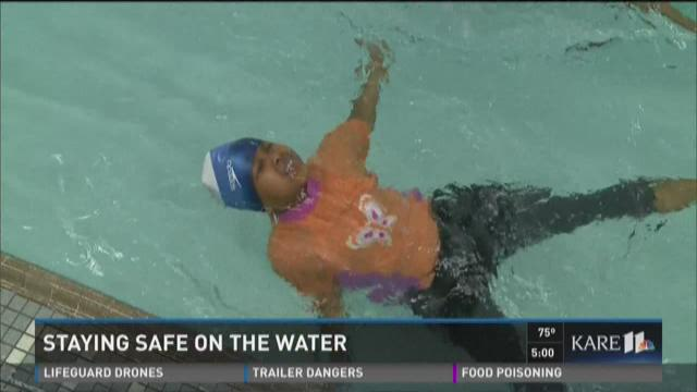 Tips for staying safe in the water