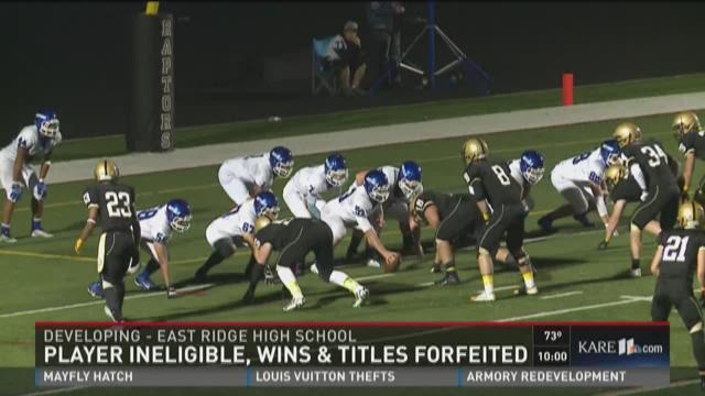 East Ridge High School forfeits football title