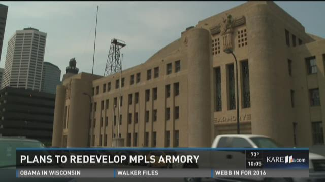 Plans to redevelop Armory into event space
