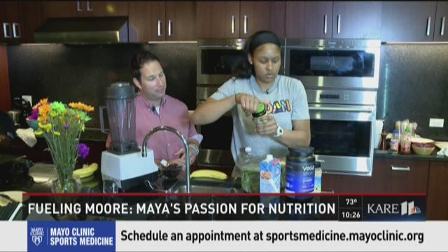 Fueling Maya: Maya's passion for nutrition