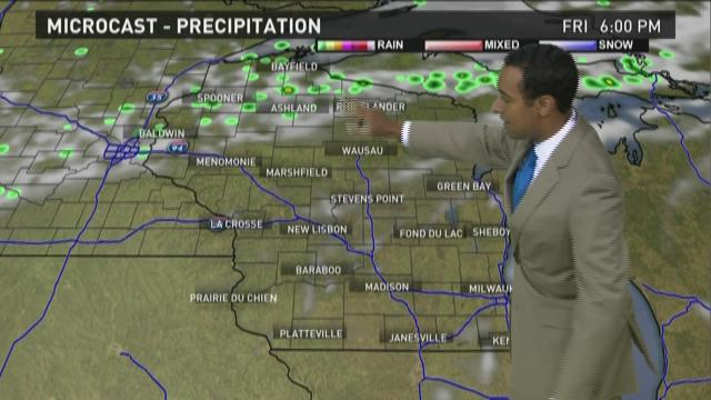 Wisconsin weather forecast for Friday, July 3