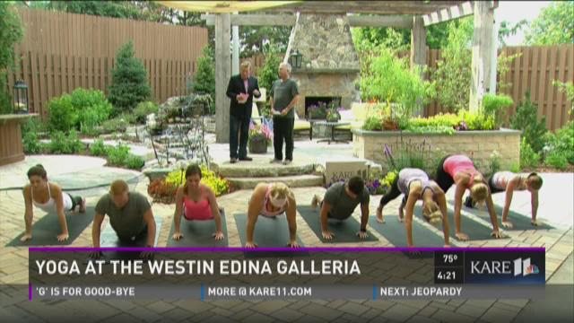 Yoga at the Westin Edina Galleria