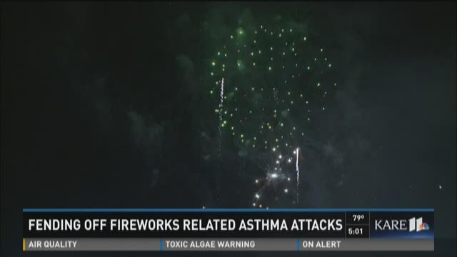 Fending off fireworks-related asthma attacks