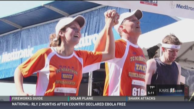 MN woman hit by bus in Spain runs half marathon