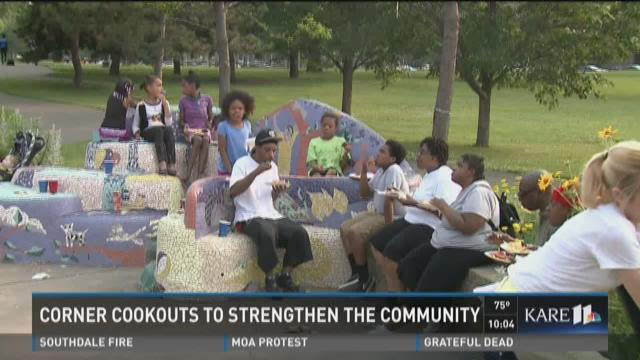 Volunteers bring 4th of July celebration to crime-ridden Mpls park