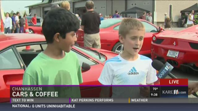 Meet some visitors to Cars and Coffee
