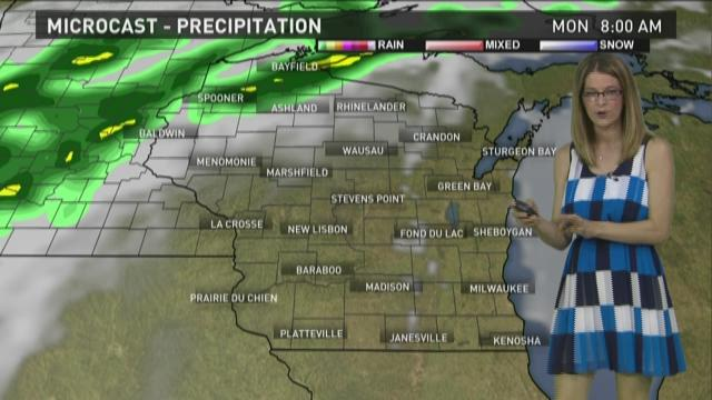 Wisconsin weather forecast for Sunday, July 5