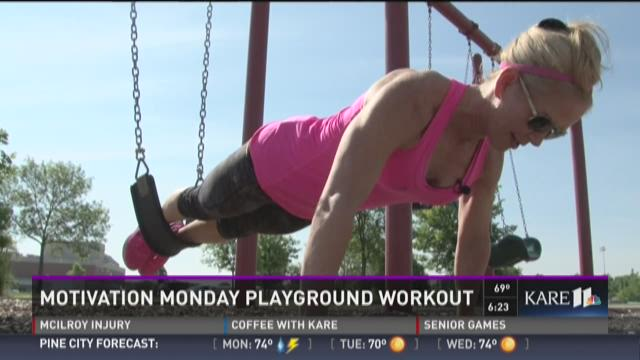 Motivation Monday: Playground workout