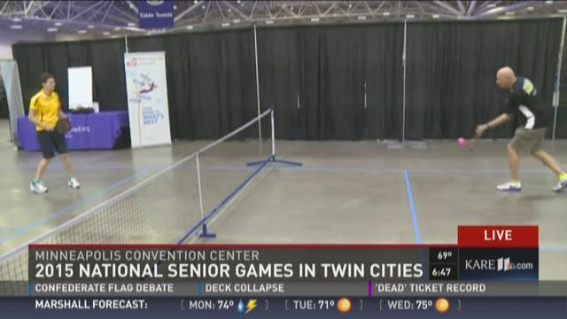 National Senior Games underway in Twin Cities